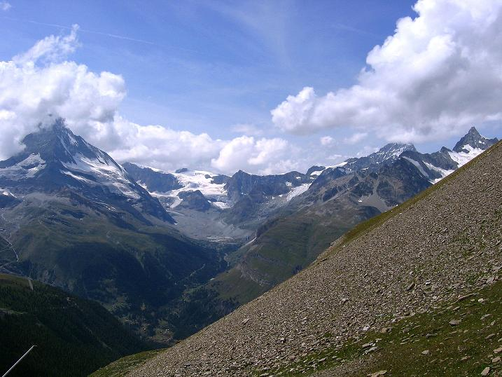 Foto: Andreas Koller / Wander Tour / Wanderdreitausender Oberrothorn (3415 m) / 05.09.2009 00:14:33