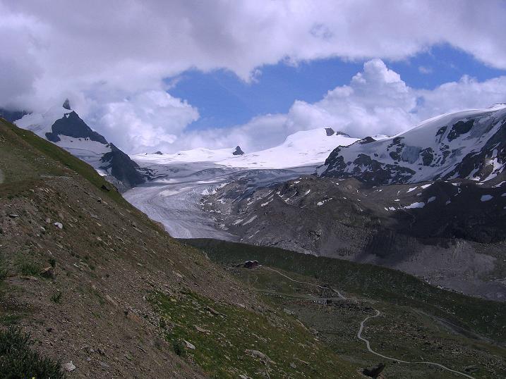 Foto: Andreas Koller / Wander Tour / Wanderdreitausender Oberrothorn (3415 m) / 05.09.2009 00:14:22
