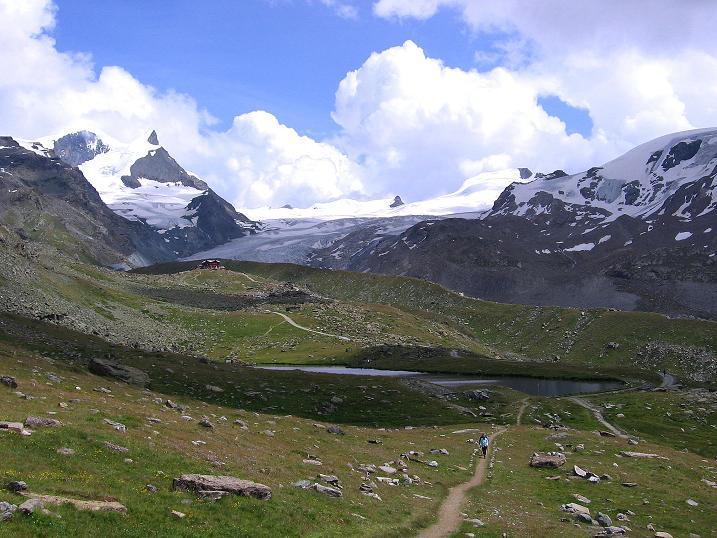 Foto: Andreas Koller / Wander Tour / Wanderdreitausender Oberrothorn (3415 m) / 05.09.2009 00:13:52