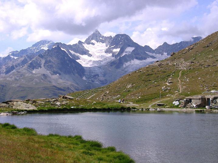 Foto: Andreas Koller / Wander Tour / Wanderdreitausender Oberrothorn (3415 m) / 05.09.2009 00:13:05