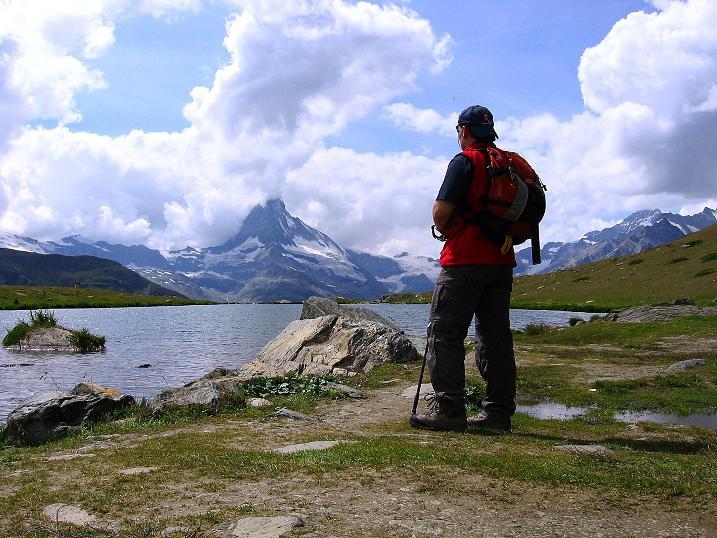 Foto: Andreas Koller / Wander Tour / Wanderdreitausender Oberrothorn (3415 m) / 05.09.2009 00:11:50