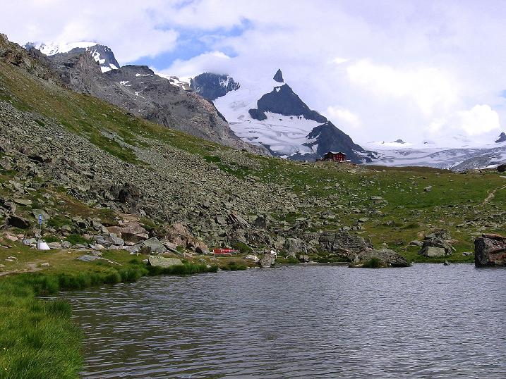 Foto: Andreas Koller / Wander Tour / Wanderdreitausender Oberrothorn (3415 m) / 05.09.2009 00:11:41