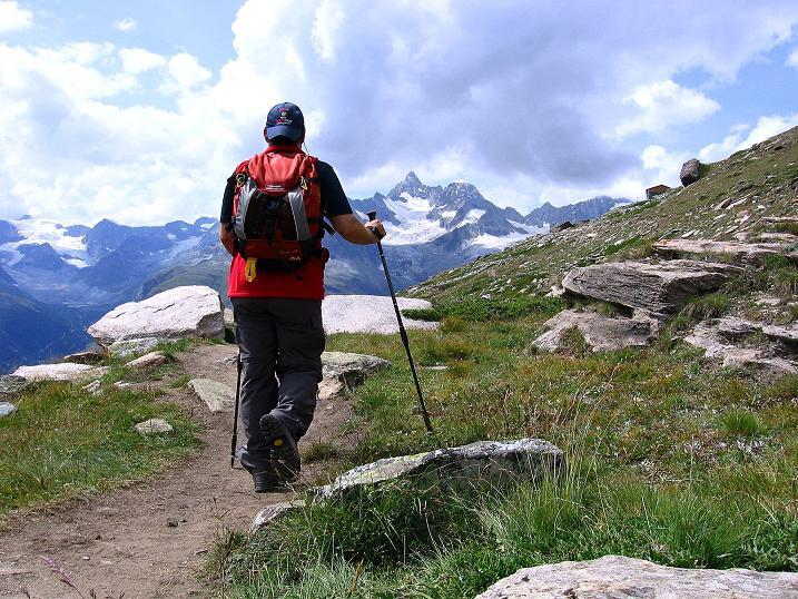 Foto: Andreas Koller / Wander Tour / Wanderdreitausender Oberrothorn (3415 m) / 05.09.2009 00:11:33