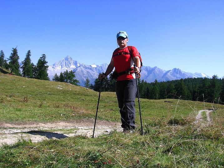Foto: Andreas Koller / Wander Tour / Über den Augstbordgrat auf das Dreizehntenhorn (3052 m) / 07.09.2009 21:42:44
