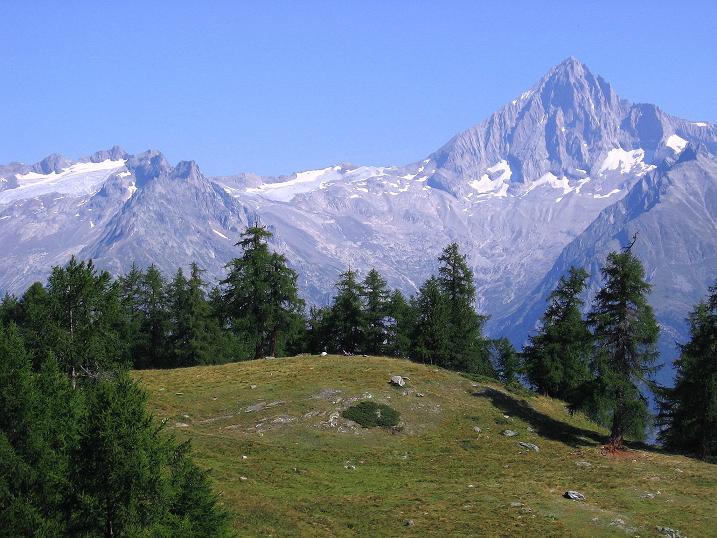 Foto: Andreas Koller / Wander Tour / Über den Augstbordgrat auf das Dreizehntenhorn (3052 m) / Bietschhorn (3934 m) in den Berner Alpen / 07.09.2009 21:42:37