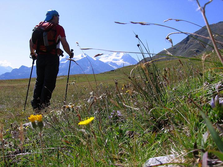 Foto: Andreas Koller / Wander Tour / Über den Augstbordgrat auf das Dreizehntenhorn (3052 m) / 07.09.2009 21:41:51