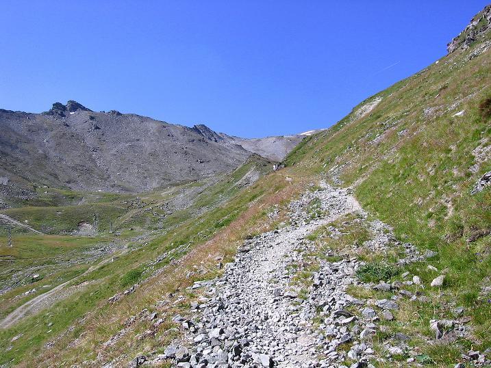 Foto: Andreas Koller / Wander Tour / Über den Augstbordgrat auf das Dreizehntenhorn (3052 m) / 07.09.2009 21:40:43