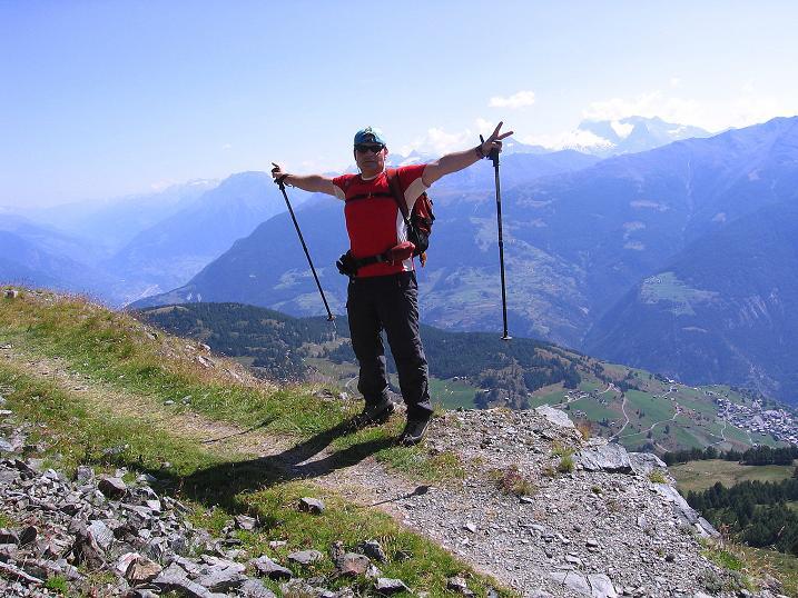 Foto: Andreas Koller / Wander Tour / Über den Augstbordgrat auf das Dreizehntenhorn (3052 m) / 07.09.2009 21:39:46