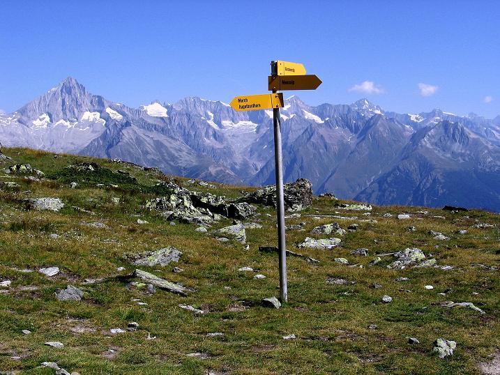 Foto: Andreas Koller / Wander Tour / Über den Augstbordgrat auf das Dreizehntenhorn (3052 m) / 07.09.2009 21:38:55