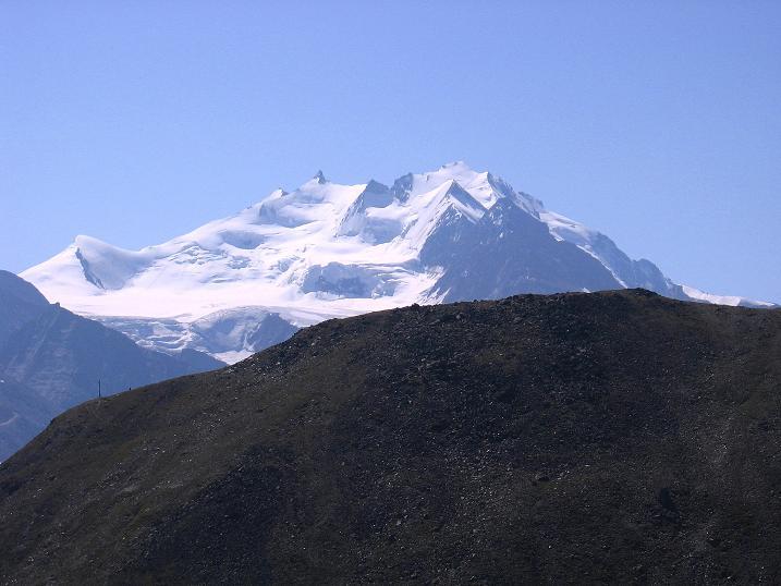 Foto: Andreas Koller / Wander Tour / Über den Augstbordgrat auf das Dreizehntenhorn (3052 m) / ulrichshorn (3925 m), Nadelhorn (4327 m) und Dom (4545 m) / 07.09.2009 21:38:47