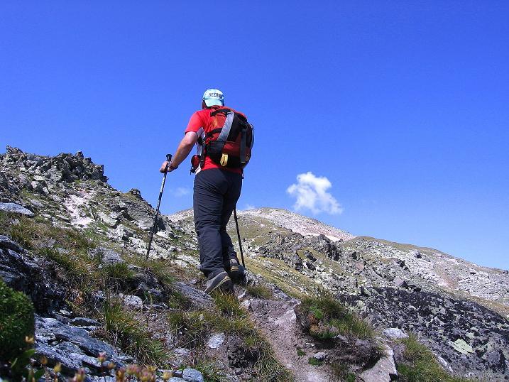 Foto: Andreas Koller / Wander Tour / Über den Augstbordgrat auf das Dreizehntenhorn (3052 m) / 07.09.2009 21:38:03
