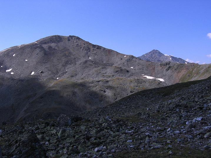 Foto: Andreas Koller / Wander Tour / Über den Augstbordgrat auf das Dreizehntenhorn (3052 m) / 07.09.2009 21:37:47