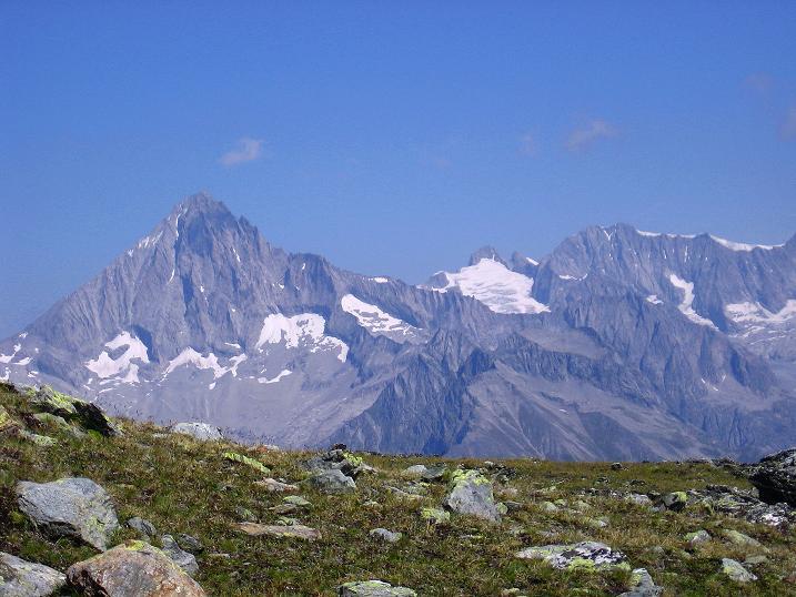 Foto: Andreas Koller / Wander Tour / Über den Augstbordgrat auf das Dreizehntenhorn (3052 m) / 07.09.2009 21:37:40