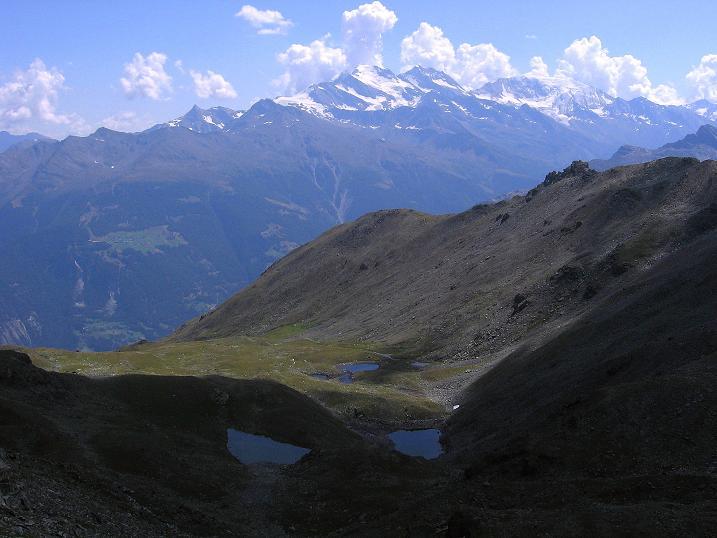 Foto: Andreas Koller / Wander Tour / Über den Augstbordgrat auf das Dreizehntenhorn (3052 m) / 07.09.2009 21:37:10
