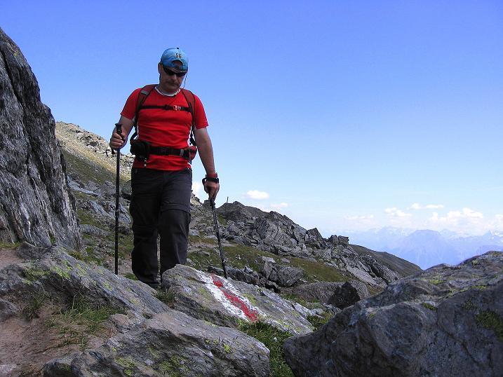 Foto: Andreas Koller / Wander Tour / Über den Augstbordgrat auf das Dreizehntenhorn (3052 m) / 07.09.2009 21:36:08