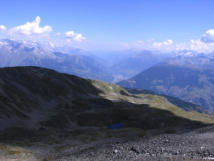 Foto: Andreas Koller / Wander Tour / Über den Augstbordgrat auf das Dreizehntenhorn (3052 m) / Brig im Rhonetal / 07.09.2009 21:35:05