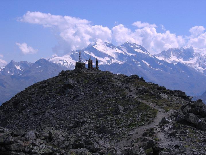 Foto: Andreas Koller / Wander Tour / Über den Augstbordgrat auf das Dreizehntenhorn (3052 m) / Augstbordhorn / 07.09.2009 21:33:32