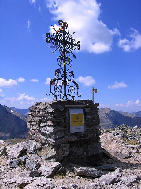 Foto: Andreas Koller / Wander Tour / Über den Augstbordgrat auf das Dreizehntenhorn (3052 m) / 07.09.2009 21:32:31