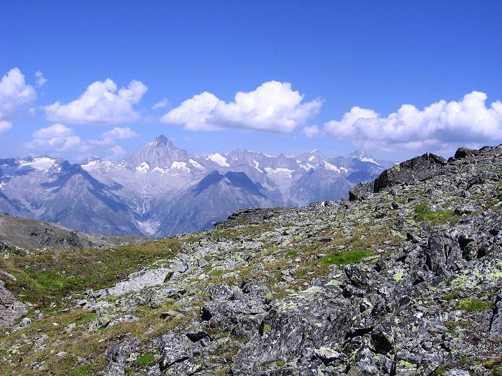Foto: Andreas Koller / Wander Tour / Über den Augstbordgrat auf das Dreizehntenhorn (3052 m) / 07.09.2009 21:31:30