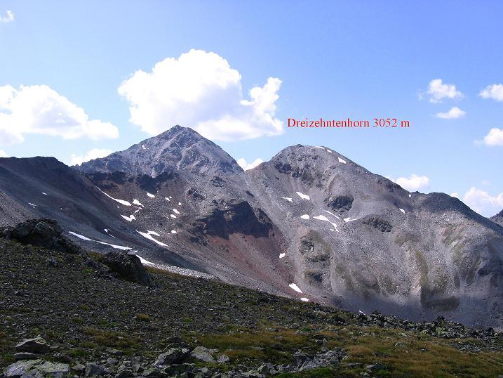Foto: Andreas Koller / Wander Tour / Über den Augstbordgrat auf das Dreizehntenhorn (3052 m) / 07.09.2009 21:28:07