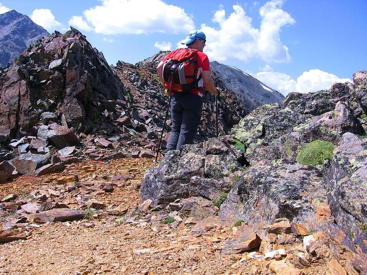Foto: Andreas Koller / Wander Tour / Über den Augstbordgrat auf das Dreizehntenhorn (3052 m) / 07.09.2009 21:26:38