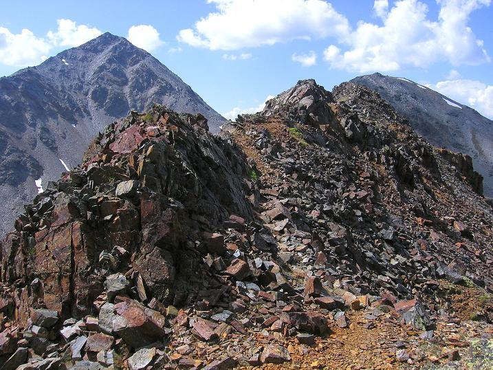 Foto: Andreas Koller / Wander Tour / Über den Augstbordgrat auf das Dreizehntenhorn (3052 m) / 07.09.2009 21:26:27