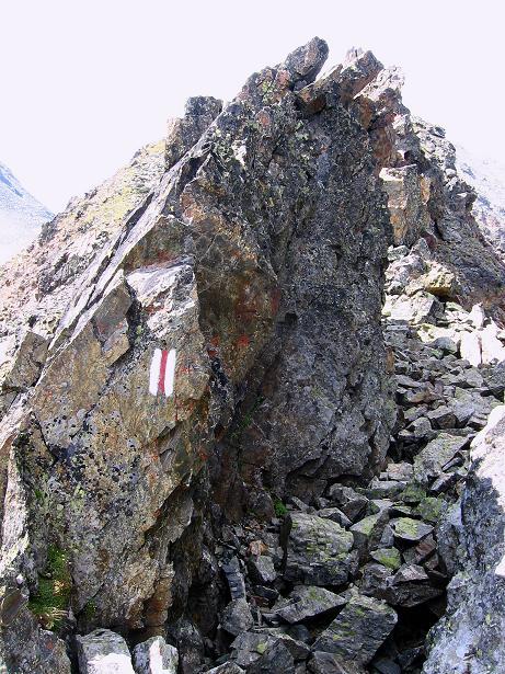 Foto: Andreas Koller / Wander Tour / Über den Augstbordgrat auf das Dreizehntenhorn (3052 m) / Augstbordgrat / 07.09.2009 21:26:16
