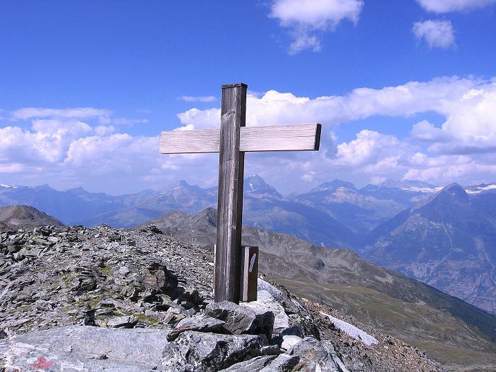 Foto: Andreas Koller / Wander Tour / Über den Augstbordgrat auf das Dreizehntenhorn (3052 m) / Am Dreizehntenhorn / 07.09.2009 21:25:55