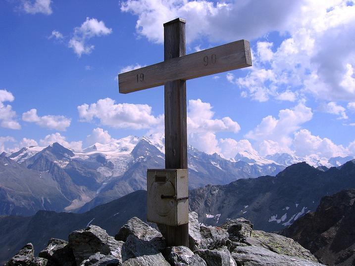 Foto: Andreas Koller / Wander Tour / Über den Augstbordgrat auf das Dreizehntenhorn (3052 m) / 07.09.2009 21:25:16