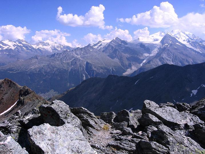Foto: Andreas Koller / Wander Tour / Über den Augstbordgrat auf das Dreizehntenhorn (3052 m) / 07.09.2009 21:25:06