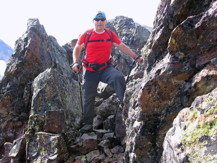 Foto: Andreas Koller / Wander Tour / Über den Augstbordgrat auf das Dreizehntenhorn (3052 m) / Zurück über den Augstbordgrat / 07.09.2009 21:21:54