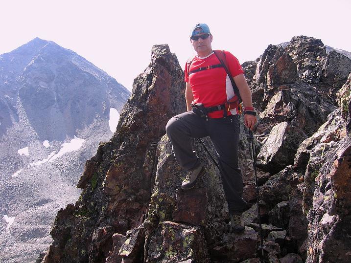 Foto: Andreas Koller / Wander Tour / Über den Augstbordgrat auf das Dreizehntenhorn (3052 m) / 07.09.2009 21:21:31
