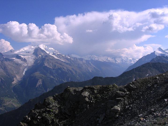 Foto: Andreas Koller / Wander Tour / Über den Augstbordgrat auf das Dreizehntenhorn (3052 m) / 07.09.2009 21:21:20