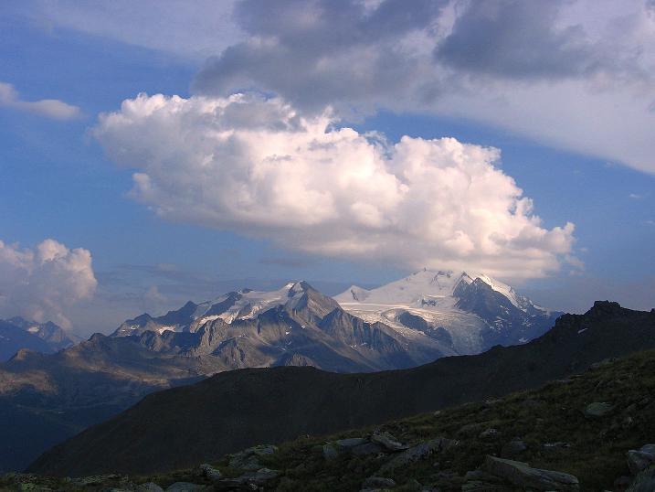 Foto: Andreas Koller / Wander Tour / Über den Augstbordgrat auf das Dreizehntenhorn (3052 m) / 07.09.2009 21:20:59