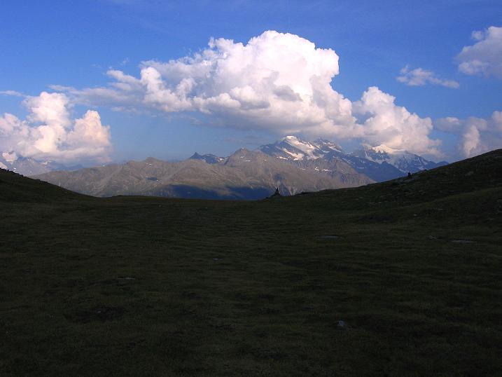 Foto: Andreas Koller / Wander Tour / Über den Augstbordgrat auf das Dreizehntenhorn (3052 m) / 07.09.2009 21:20:50
