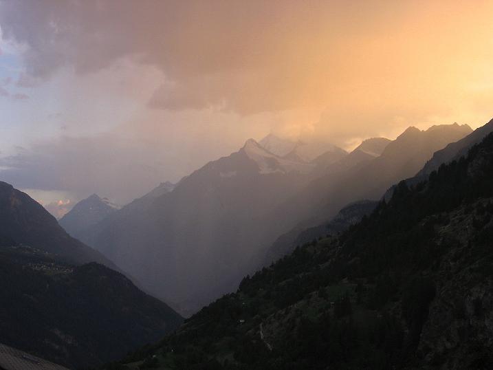 Foto: Andreas Koller / Wander Tour / Über den Augstbordgrat auf das Dreizehntenhorn (3052 m) / 07.09.2009 21:20:41