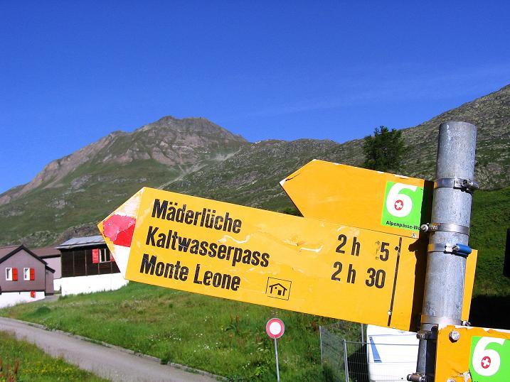 Foto: Andreas Koller / Wander Tour / Vom Simplonpass auf das Wasenhorn (3246 m) / 10.09.2009 00:02:09