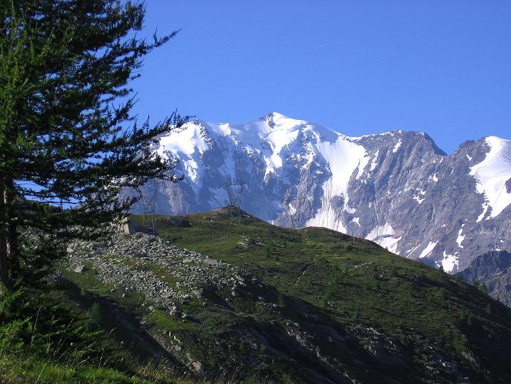 Foto: Andreas Koller / Wander Tour / Vom Simplonpass auf das Wasenhorn (3246 m) / Fletschhorn / 10.09.2009 00:01:08