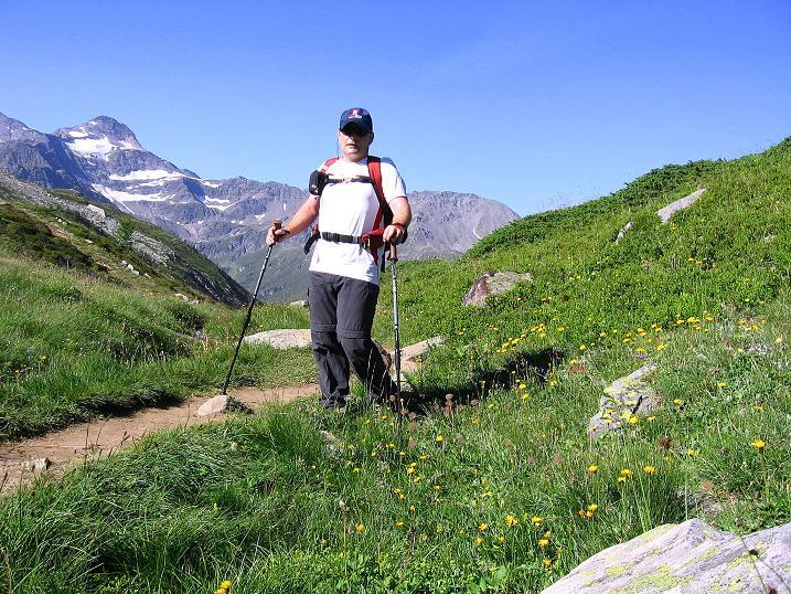 Foto: Andreas Koller / Wander Tour / Vom Simplonpass auf das Wasenhorn (3246 m) / 10.09.2009 00:00:10