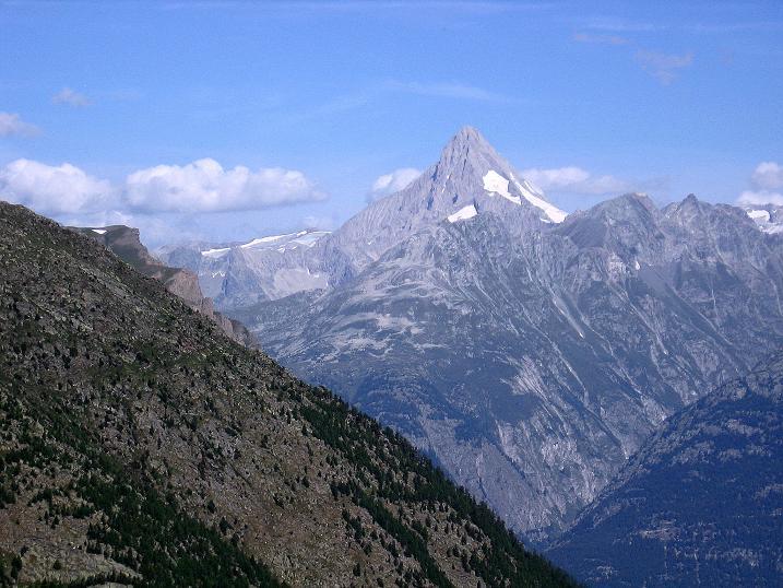 Foto: Andreas Koller / Wander Tour / Vom Simplonpass auf das Wasenhorn (3246 m) / Bietschhorn (3934 m) / 09.09.2009 23:58:43