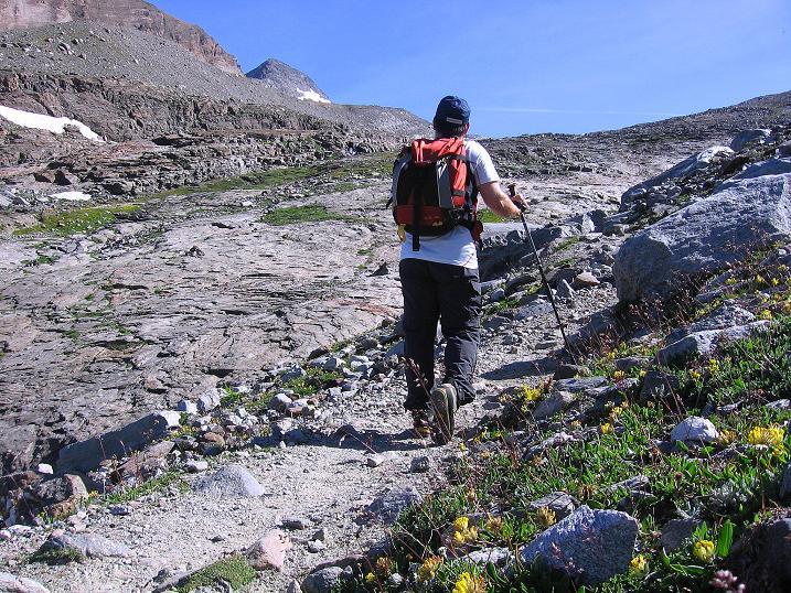 Foto: Andreas Koller / Wander Tour / Vom Simplonpass auf das Wasenhorn (3246 m) / 09.09.2009 23:58:08