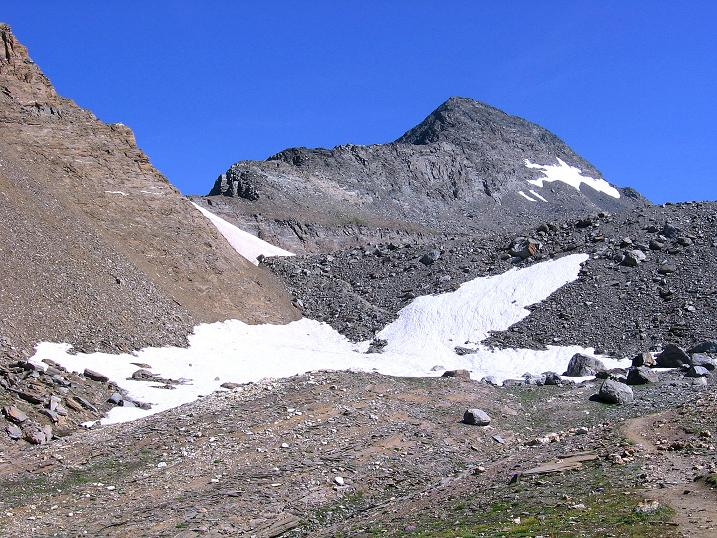 Foto: Andreas Koller / Wander Tour / Vom Simplonpass auf das Wasenhorn (3246 m) / Wasenhorn / 09.09.2009 23:56:21