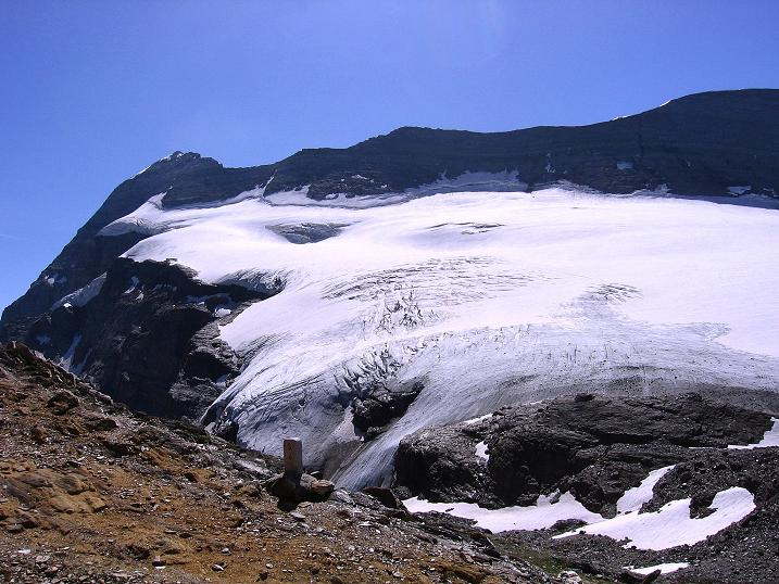 Foto: Andreas Koller / Wander Tour / Vom Simplonpass auf das Wasenhorn (3246 m) / Monte Leone (3553 m) / 09.09.2009 23:55:03