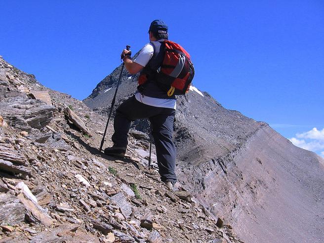 Foto: Andreas Koller / Wander Tour / Vom Simplonpass auf das Wasenhorn (3246 m) / Grattour / 09.09.2009 23:53:26