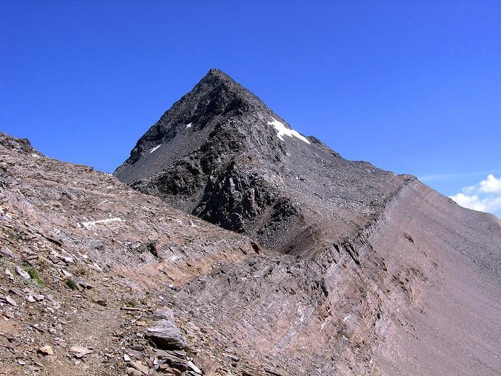 Foto: Andreas Koller / Wander Tour / Vom Simplonpass auf das Wasenhorn (3246 m) / Der SW-Grat / 09.09.2009 23:53:12
