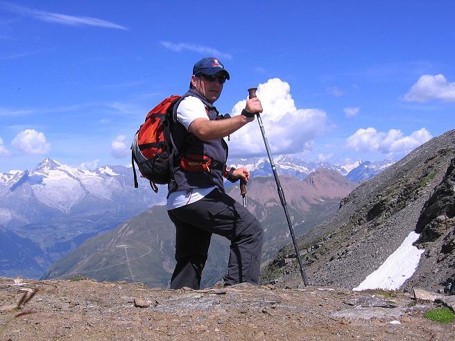 Foto: Andreas Koller / Wander Tour / Vom Simplonpass auf das Wasenhorn (3246 m) / 09.09.2009 23:52:34