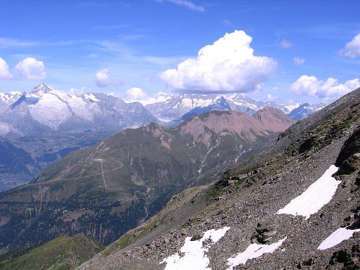 Foto: Andreas Koller / Wander Tour / Vom Simplonpass auf das Wasenhorn (3246 m) / 09.09.2009 23:52:23