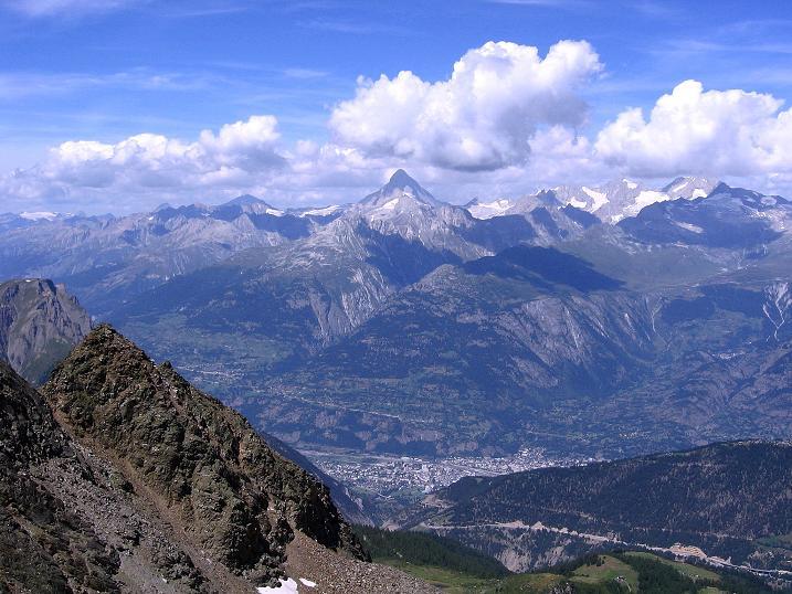 Foto: Andreas Koller / Wander Tour / Vom Simplonpass auf das Wasenhorn (3246 m) / 09.09.2009 23:52:15