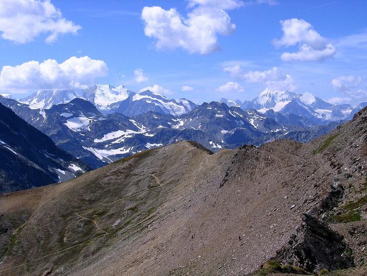 Foto: Andreas Koller / Wander Tour / Vom Simplonpass auf das Wasenhorn (3246 m) / 09.09.2009 23:52:06