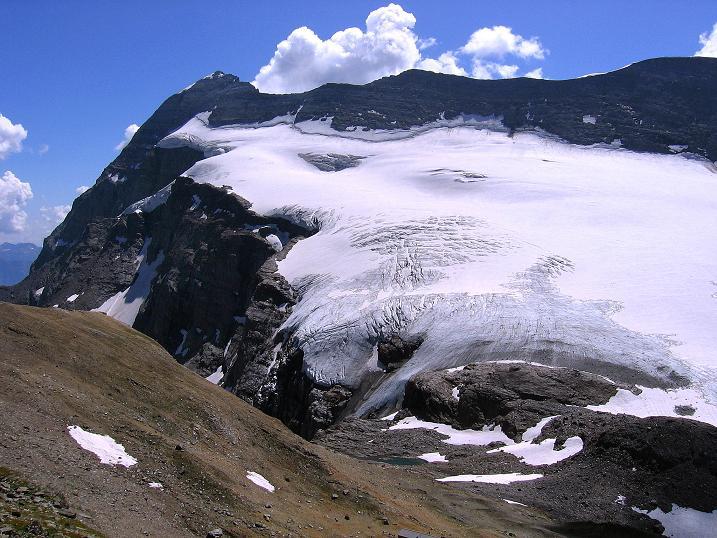 Foto: Andreas Koller / Wander Tour / Vom Simplonpass auf das Wasenhorn (3246 m) / Monte Leone (3553 m) / 09.09.2009 23:51:35